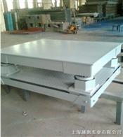 2吨缓冲电子平台秤,2吨钢材缓冲避震平台秤厂