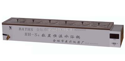 HH-S11.6数显单列六孔水浴锅