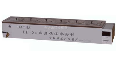 HH-S11.8数显单列八孔水浴锅
