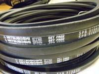SPB6720LW/5V2650空调机皮带,耐高温三角带,窄V带