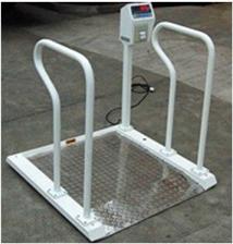 XK3101500千克醫院用不銹鋼輪椅秤
