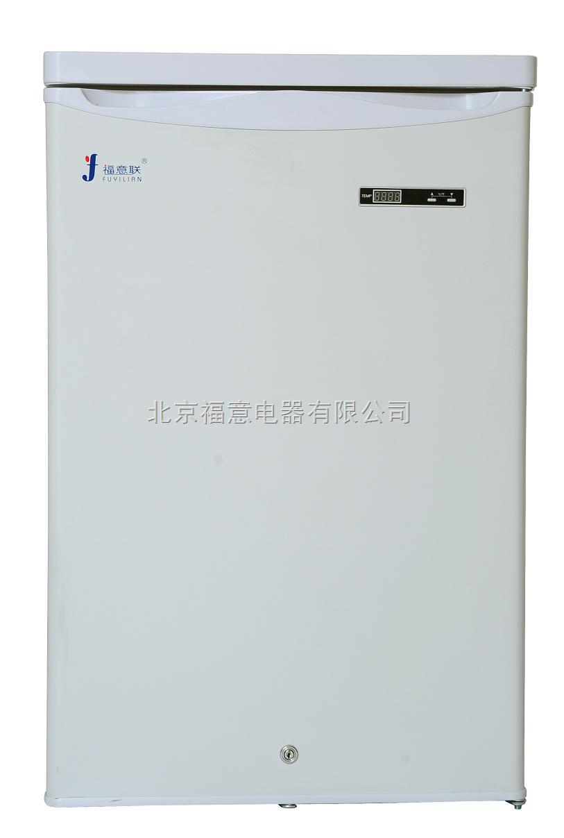 实验测试低温冰箱