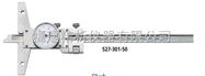 深度尺-帶表深度卡尺527—帶有微動裝置