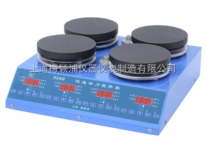 524G四工位磁力搅拌器