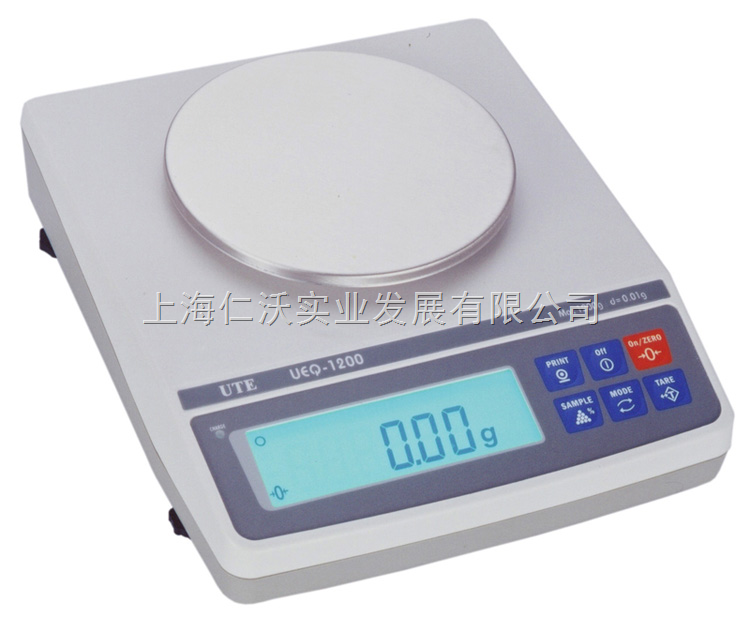 UTE联贸UEQ-1200电子天平max:1200g/d=0.01g
