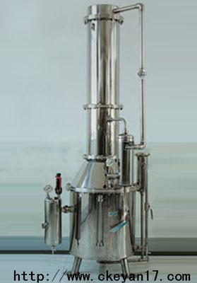 上海供应不锈钢塔式蒸汽重蒸馏水器