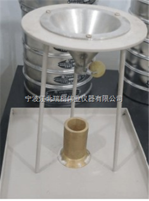 FT-106C密度測定儀黑碳化硅段砂堆積密度儀,粒度砂堆積密度測定儀