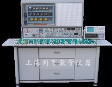 TK-KL-760C通用電工、模電、數電、電拖(帶直流電機)實驗及技能實訓考核綜合裝置