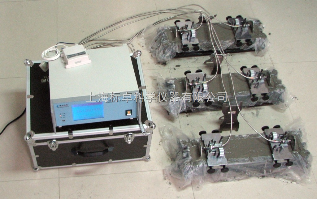 非接触式混凝土收缩变形测定形测定仪