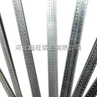 高频焊接不可折弯中空玻璃铝隔条厂家