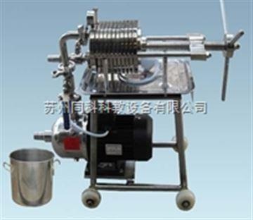 TKWS-385型同科板框式微型压滤机 (不锈钢)