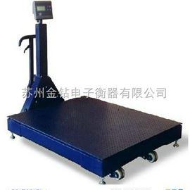 scs-5泰州3吨移动式电子地磅秤