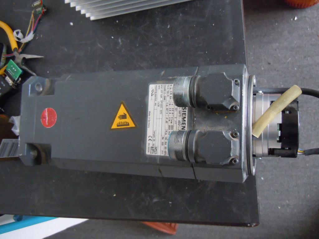 西门子伺服电机线圈烧维修
