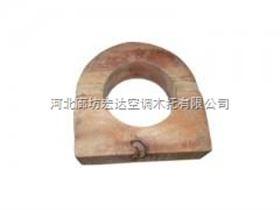 防震动管道垫木