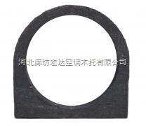 空调冷水管木支座/防腐木管托
