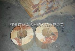 红松木保冷管托、松木垫块