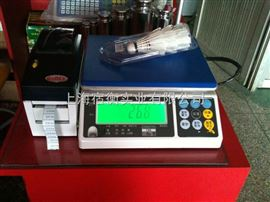 不干胶打印电子秤,15公斤热敏不干胶打印电子称,深圳有卖不干胶打印机