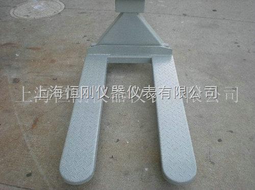 2500公斤带打印不锈钢叉车秤