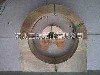 开封异形空调管道木支座