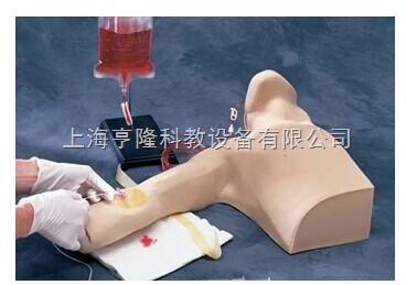 外周中心导管插入模型