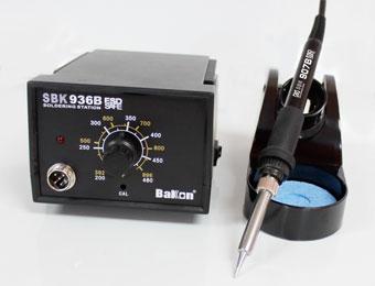 sbk936b深圳白光恒温焊台烙铁进口发热芯sbk936b 65w焊台