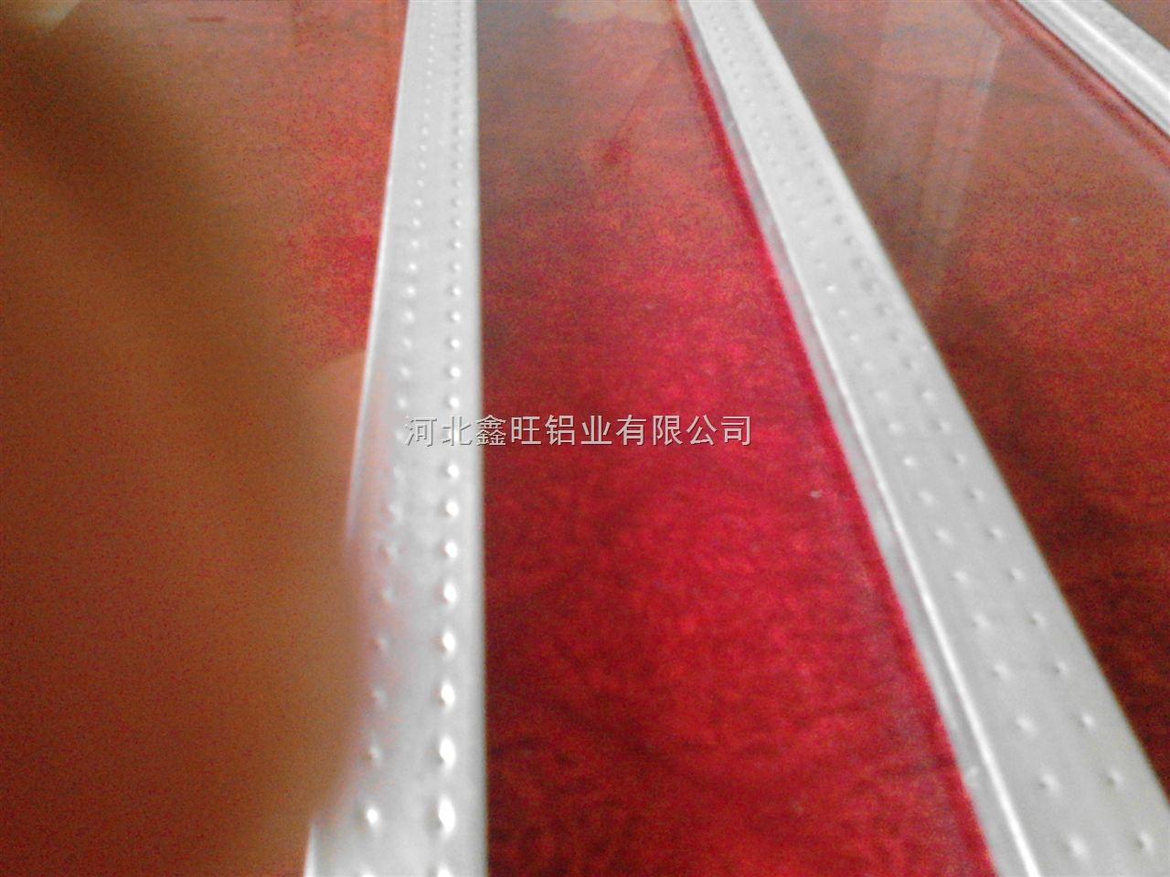 直销合肥国标低价中空玻璃铝隔条厂家