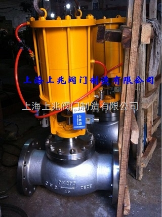 气动紧急切断阀/双气缸紧急切断阀QDQ421F-DN200