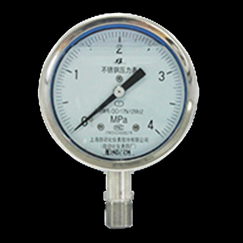 Y-153B-F不锈钢压力表