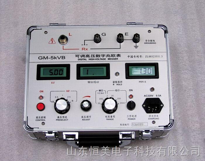 变电站新可调高压数字兆欧表