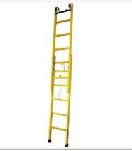 绝缘硬质伸缩梯/单升降梯