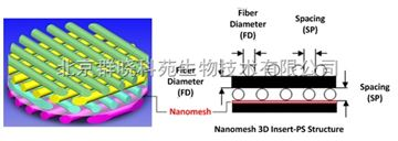 纳米筛网3D培养支架(3D Insert with Nanomesh)--3D Biotek