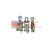 QHN1铝合金起重滑车(铝合金板、MC尼龙轮)