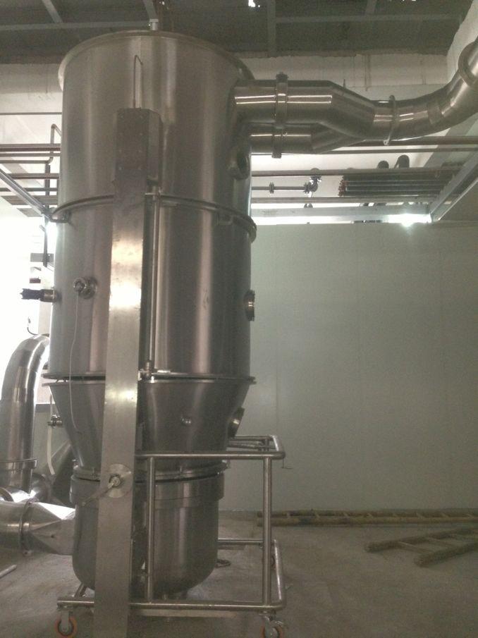 GMP沸腾制粒干燥机