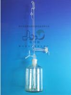 1655 10ml全自动滴定管磨口储液瓶及打气球活塞玻璃四氟节门