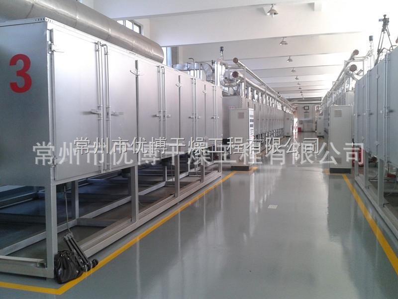 处理量9000Kg/h脱水蔬菜包菜片多节网带式干燥机