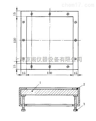 供应 板材表面耐冷热循环性能测定用金属架