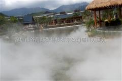 西藏人工湖泊喷雾造景工程人造景系统