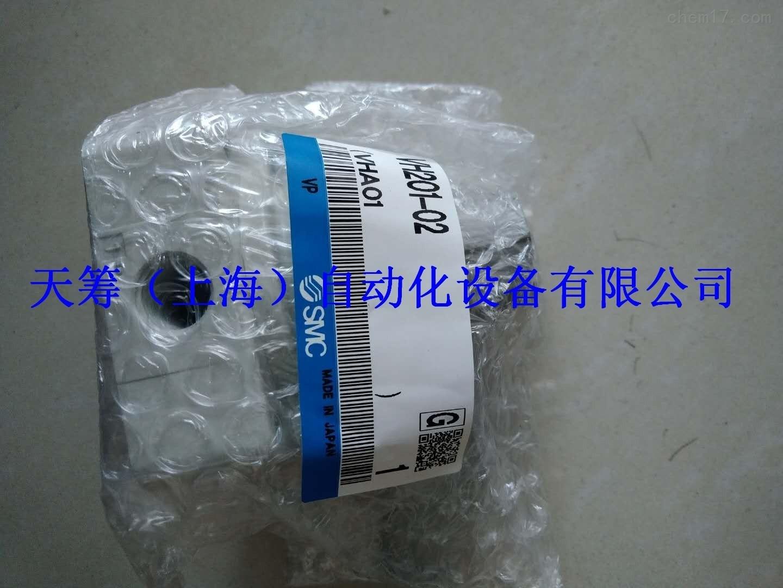 SMC手动阀VH201-02