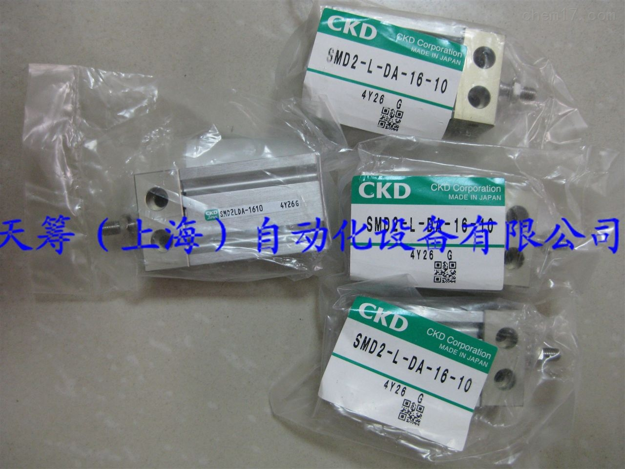 CKD自由固定型气缸SMD2-L-DA-16-10