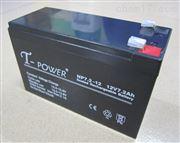 T-POWER蓄电池NP55-12铅酸免维护12V55AH/铅酸蓄电池
