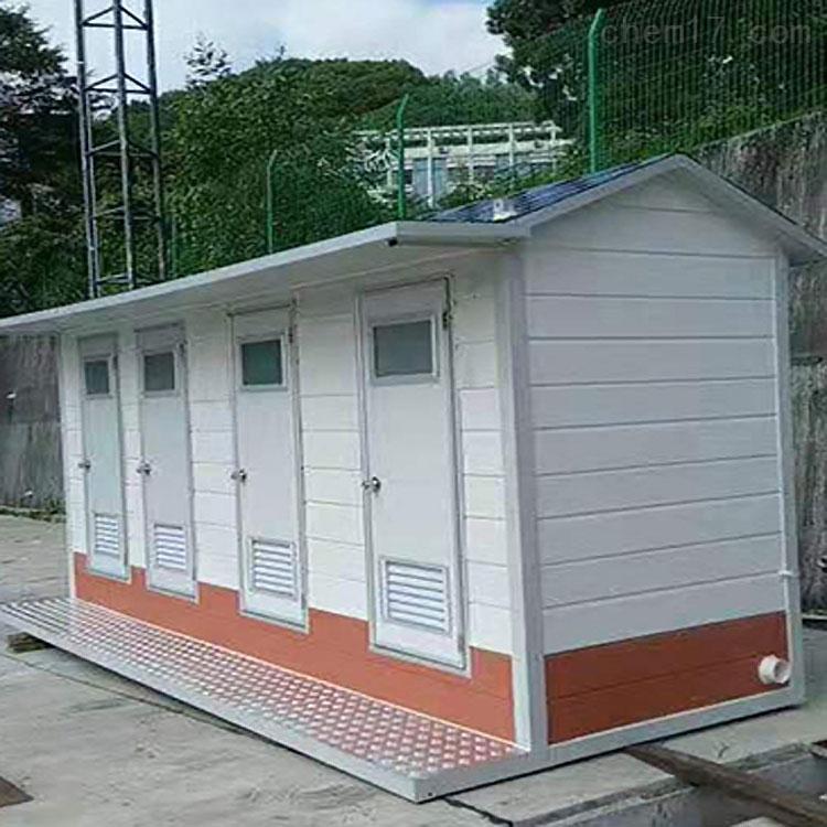 乌兰察布双联体移动厕所