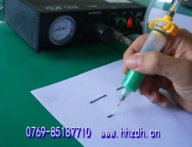 HH-301H女装点胶机定量滴胶机华海气质打胶手动手动性感修身图片