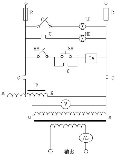 低压大电流发生器的产品原理