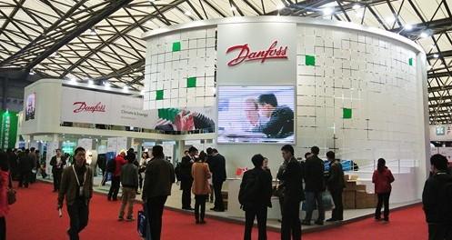 至10日在上海举行的中国制冷展上