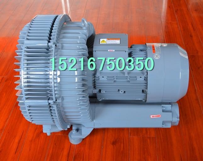 鼓风机工作原理: 双段高压风机是吹吸两用的旋涡气泵