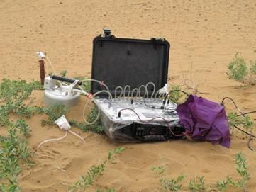 模拟动物足与土壤 测试装置
