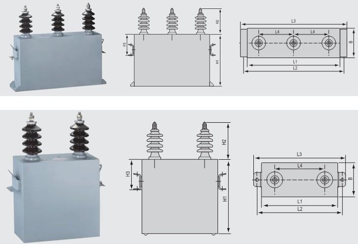 高电压并联电容器 高压并联电容器