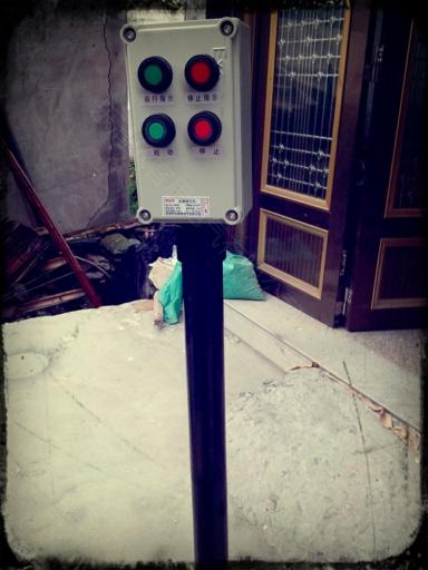 消防电铃实物图接线