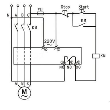 相当于一个延时启动的时间继电器功能.f61=0表示关闭时间继电器功能.