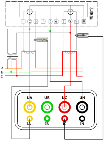 测电相位检测仪电路图